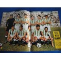 REVISTA AS COLOR NUMERO 21 POSTER REAL BETIS BALOMPIE 1971