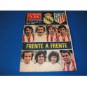 REVISTA LOS DOMINGOS DE ABC REAL MADRID ATLETICO DE MADRID 1976